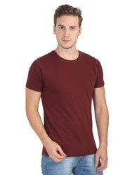 Mens Cotton Half Sleeve Round Neck T Shirts