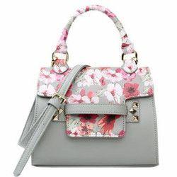Vestta Printed Leather Handbag Yes
