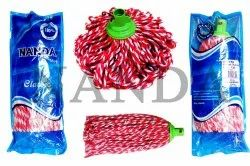 Cotton Classic Mop with Powder Quoted M.S Pole