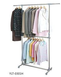 SS Garment Hanging Stand