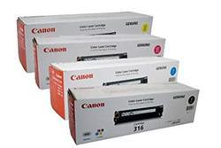 Canon 316 Toner Cartridge Set - Black