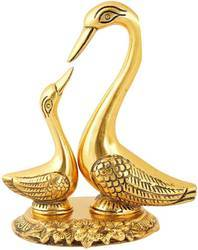 Gold Plated Swan Set