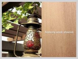 Wood Polymer Composite - A best alternative to natural resource ¿¿¿Wood¿¿¿, A smart material for th