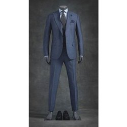 Formal Plain Mens Merino Wool Mens 3 Piece Suit