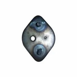 Mild Steel MS Headlights Base Plate, Thickness: 2-3mm, for Headlight