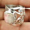 Royal Blue Labradorite 925 Sterling Silver Ring