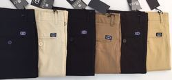 Cotton Flat Trousers Trouser