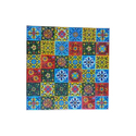 Multicolor Square Ceramic Flowers Tiles, 0-5 Mm, For Wall