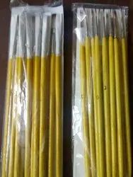 ATC Yellow Artist Brush, For Painting, Size: 0-6