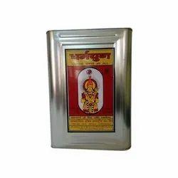 Dharmyug 15Kg Kachi Ghani Mustard Oil, Packaging Type: Tin, Packaging Size: 15kgs