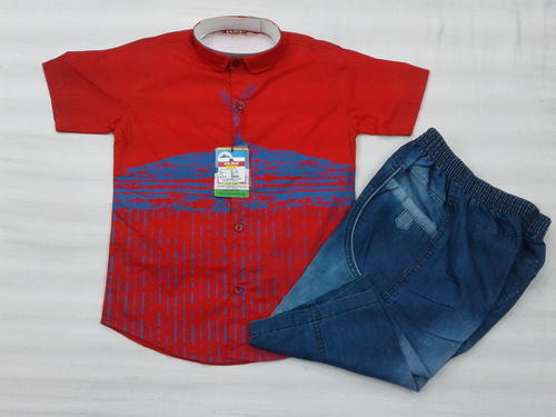 Boys Casual Half Suit