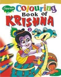 Coloring Book Of Krishna 2