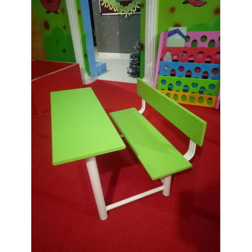 Plastic Green School Kids Bench Rs 2800 Piece Shree