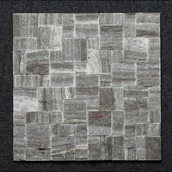 Black Granite Roman Pattern Wall Mosaic