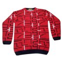 Arrezo Red Boys Woolen Sweater