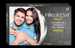 Follikesh - (Biotin Amino Acids Vitamins Natural Extracts (Hair Loss Formula) )