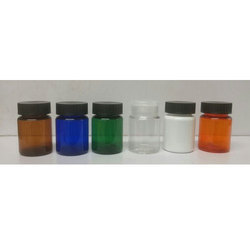 40 Cc PET Capsule Jar