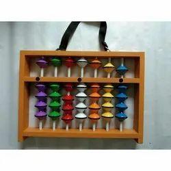 7 Rod Multi Colour Master Abacus