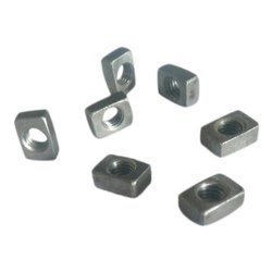 Steel Female Rectangular Nut, Size: 5mm/6mm, for Industrial