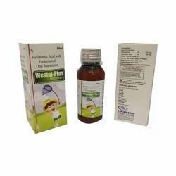 Mefenamic Acid With Paracetamol Oral Suspension