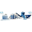 Blue Fully Automatic Cement Brick Making Machine