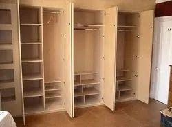 Hrishikesh Engineering Custom Wardrobe, for Home/Hotel/Bedroom, Size/Dimension: Custom