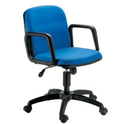 Blue Movable Office Chair