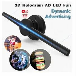 3D Full Naked Eye Hologram LED Fan