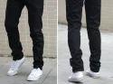 Black Cotton Jeans