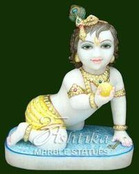 Marble Laddo Gopal Idol