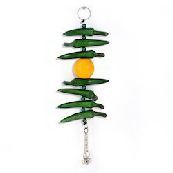 Lemon Green Chilly Wall Hanging 285