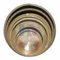 Brass Round Patila