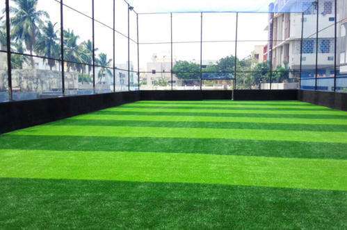 Pe Futsal Ground Artificial Grass Rs 75 Square Feet P K Versi Turf Private Limited Id 7043174455