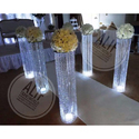 Crystal Wedding Aisle Pillars Chandeliers Wedding Decoration