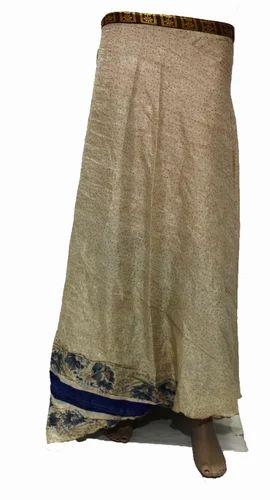 792afb218483 Silk Vintage Long Wrap Skirt, Rs 250 /piece, Nivisaa Enterprises ...