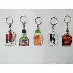MDF Wooden Keychain