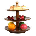 Wooden Fruit Tray Stand