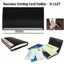 Leatherette Visiting Card Holder SM106H1127