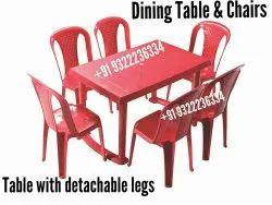 Standard Plastic Dining Table