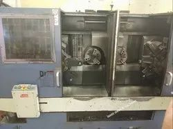 CNC Twin Spindle Lathe HWACHEON