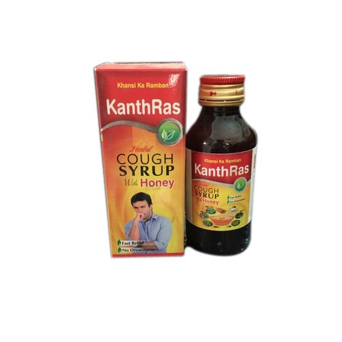Shiva Kanthras Herbal Cough Syrup With Honey, Bottle Size: 100 mL