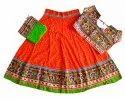Gujarati Heavy Embroidered Chaniya Choli - Baby Girl