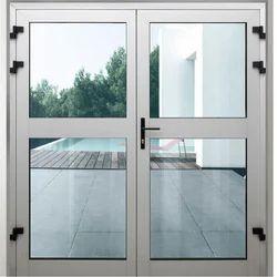 Aluminium Sliding Doors, For Office