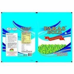 Frozen Peas Packaging Bag