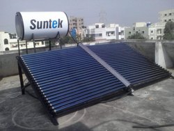 Manifold Model ETC Based Solar Water Heater 500LPD