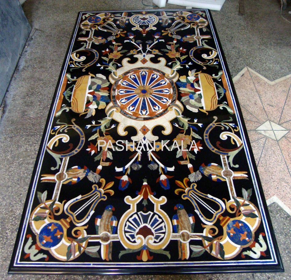 Polish marble Inlaid Table Tops, For Home