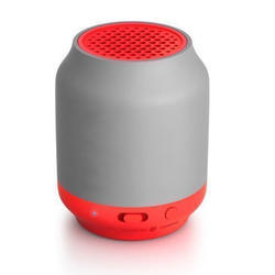 Red And Grey Philips Bluetooth Speaker