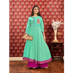Ladies Embroidered Anarkali Kurti