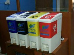 32 L Bio Medical Waste Bins Container