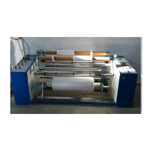 HARSHAL SLITTER REWINDERS Stretch Film Slitter Rewinder Machine, 2 Ton Per Day, 5 Hp